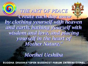 VISUAL DHARMA ART - THE ART OF PEACE