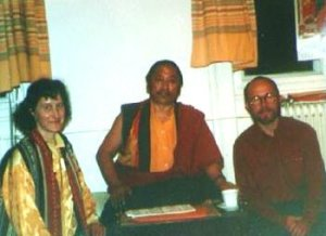 ๑۩۞۩๑  With Lho Kunzang Rinpoche (Tibet) after Medicine Buddha empowerment at Rime Chöling, Graz ,Austria