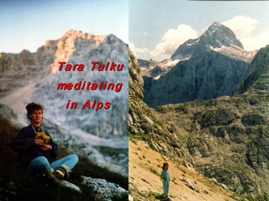 meditation in Alps 2
