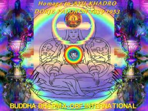 AYU KHADRO DORJE PALDRON, Visual Dharma Art by Tara Tulku Drimed Drolkhar