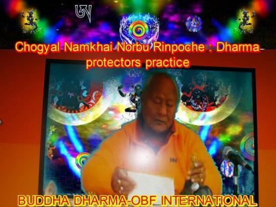 Chogyal Namkhai Norbu Dharma protector practice