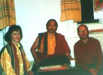 Lho Kunzag Rinpoche with Tara and Norbu