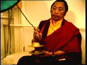 Lho Kunzang Rinpoche at Mahakala Puja