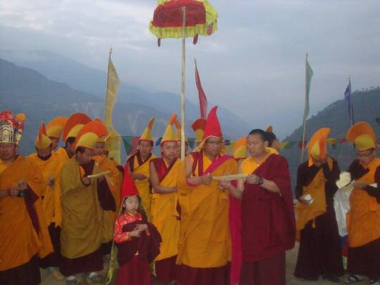Vajrakilaya Drubchen 2012 by Khenpo Thubten and Tulku Tashi Palden