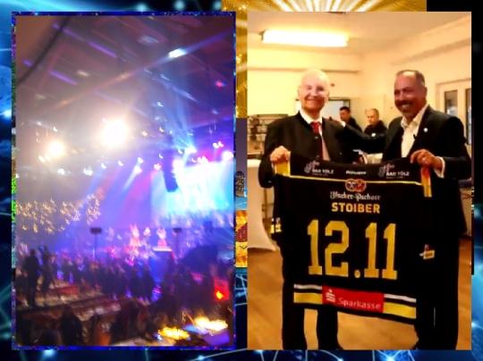 wee Convention Cengiz Ehliz and Edmund Stoiber