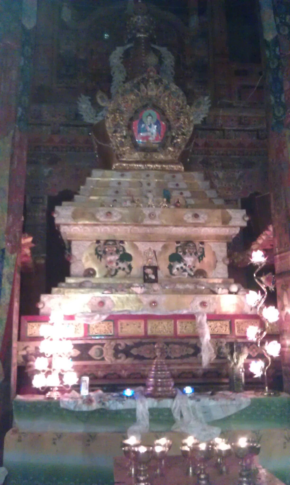 Nyala Pema Dundul Stupa