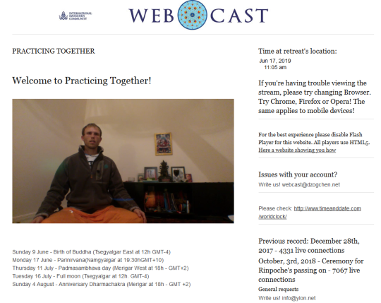 dzogchen community webcast dharmachakra day june 17 2019